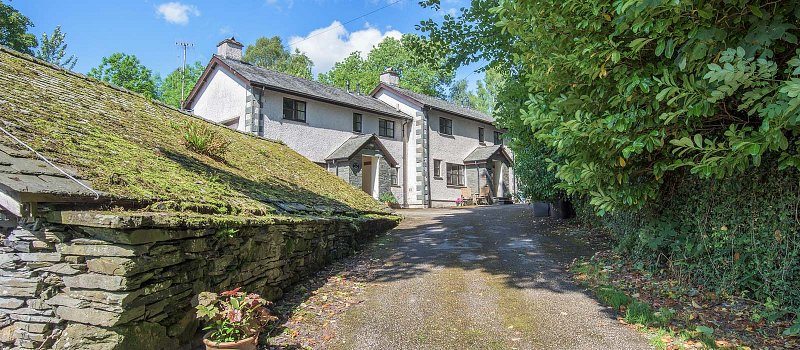 Secluded tranquility on the river Stock Ghyll